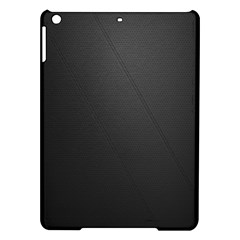 Leather Stitching Thread Perforation Perforated Leather Texture Ipad Air Hardshell Cases by Simbadda