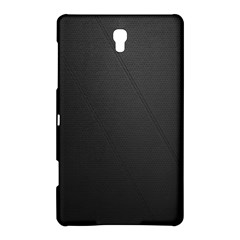Leather Stitching Thread Perforation Perforated Leather Texture Samsung Galaxy Tab S (8 4 ) Hardshell Case  by Simbadda