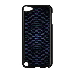 Hexagonal White Dark Mesh Apple Ipod Touch 5 Case (black) by Simbadda