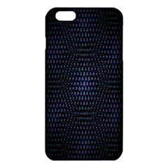 Hexagonal White Dark Mesh Iphone 6 Plus/6s Plus Tpu Case by Simbadda