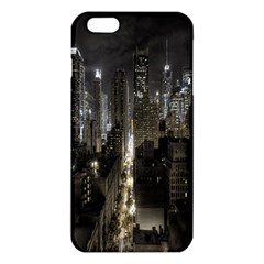 New York United States Of America Night Top View Iphone 6 Plus/6s Plus Tpu Case