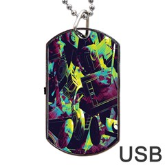 Items Headphones Camcorders Cameras Tablet Dog Tag Usb Flash (two Sides)
