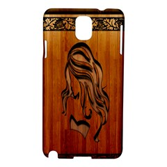 Pattern Shape Wood Background Texture Samsung Galaxy Note 3 N9005 Hardshell Case by Simbadda