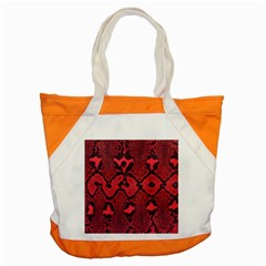 Leather Point Surface Accent Tote Bag by Simbadda