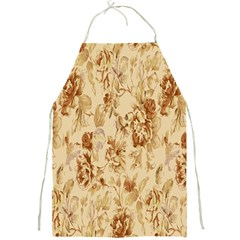 Patterns Flowers Petals Shape Background Full Print Aprons by Simbadda