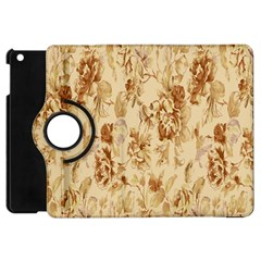 Patterns Flowers Petals Shape Background Apple Ipad Mini Flip 360 Case by Simbadda