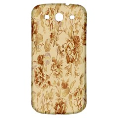 Patterns Flowers Petals Shape Background Samsung Galaxy S3 S Iii Classic Hardshell Back Case by Simbadda