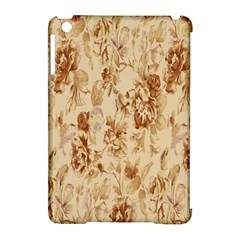 Patterns Flowers Petals Shape Background Apple Ipad Mini Hardshell Case (compatible With Smart Cover) by Simbadda