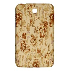 Patterns Flowers Petals Shape Background Samsung Galaxy Tab 3 (7 ) P3200 Hardshell Case  by Simbadda