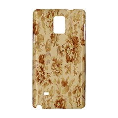 Patterns Flowers Petals Shape Background Samsung Galaxy Note 4 Hardshell Case by Simbadda