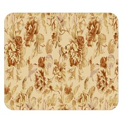 Patterns Flowers Petals Shape Background Double Sided Flano Blanket (small)  by Simbadda