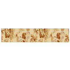 Patterns Flowers Petals Shape Background Flano Scarf (small) by Simbadda