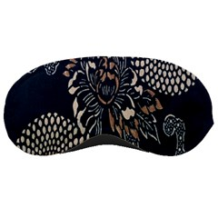 Patterns Dark Shape Surface Sleeping Masks