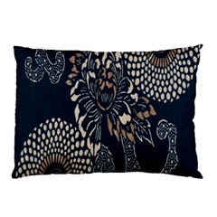 Patterns Dark Shape Surface Pillow Case (two Sides) by Simbadda