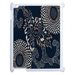 Patterns Dark Shape Surface Apple Ipad 2 Case (white) by Simbadda