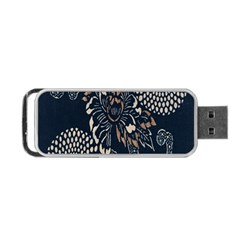 Patterns Dark Shape Surface Portable Usb Flash (one Side) by Simbadda
