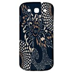 Patterns Dark Shape Surface Samsung Galaxy S3 S III Classic Hardshell Back Case Front