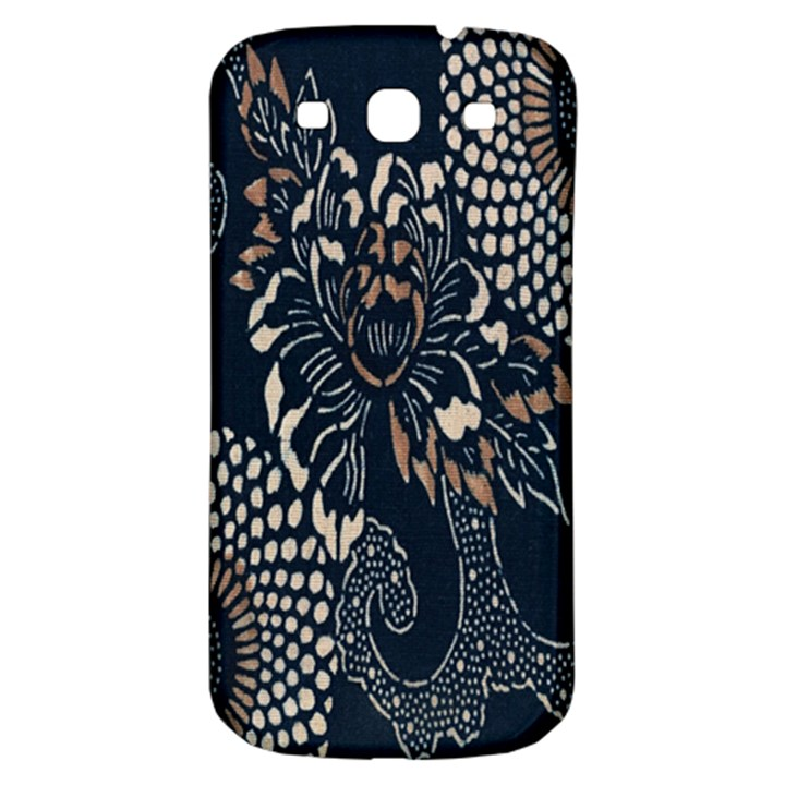 Patterns Dark Shape Surface Samsung Galaxy S3 S III Classic Hardshell Back Case