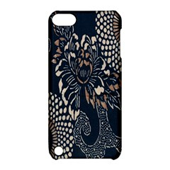 Patterns Dark Shape Surface Apple Ipod Touch 5 Hardshell Case With Stand by Simbadda
