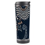 Patterns Dark Shape Surface Travel Tumbler Right