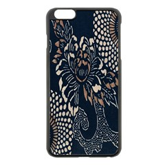 Patterns Dark Shape Surface Apple Iphone 6 Plus/6s Plus Black Enamel Case by Simbadda