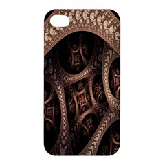 Patterns Dive Background Apple Iphone 4/4s Premium Hardshell Case by Simbadda
