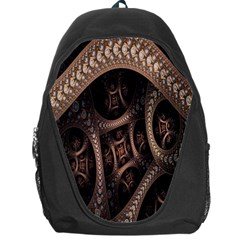 Patterns Dive Background Backpack Bag by Simbadda