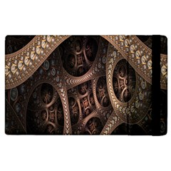 Patterns Dive Background Apple Ipad 3/4 Flip Case by Simbadda
