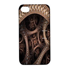 Patterns Dive Background Apple Iphone 4/4s Hardshell Case With Stand by Simbadda