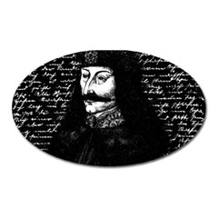 Count Vlad Dracula Oval Magnet by Valentinaart