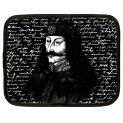 Count Vlad Dracula Netbook Case (xxl)  by Valentinaart