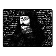 Count Vlad Dracula Fleece Blanket (small) by Valentinaart