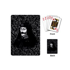 Count Vlad Dracula Playing Cards (mini)  by Valentinaart