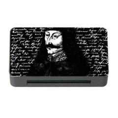 Count Vlad Dracula Memory Card Reader With Cf by Valentinaart