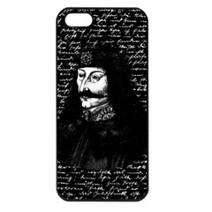 Count Vlad Dracula Apple Iphone 5 Seamless Case (black) by Valentinaart
