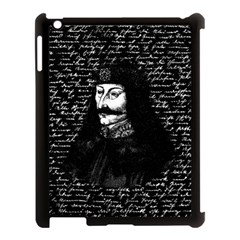 Count Vlad Dracula Apple Ipad 3/4 Case (black) by Valentinaart
