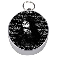Count Vlad Dracula Silver Compasses by Valentinaart