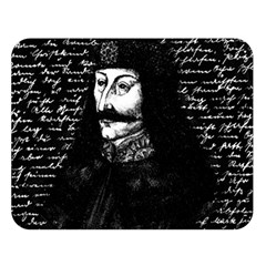 Count Vlad Dracula Double Sided Flano Blanket (large)  by Valentinaart