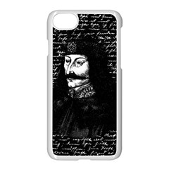 Count Vlad Dracula Apple Iphone 7 Seamless Case (white) by Valentinaart