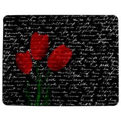 Red Tulips Jigsaw Puzzle Photo Stand (rectangular) by Valentinaart