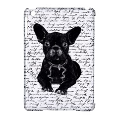 Cute Bulldog Apple Ipad Mini Hardshell Case (compatible With Smart Cover) by Valentinaart