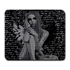 Angel Large Mousepads by Valentinaart