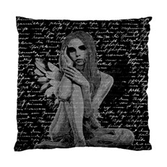 Angel Standard Cushion Case (one Side) by Valentinaart