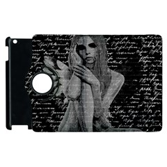 Angel Apple Ipad 2 Flip 360 Case by Valentinaart