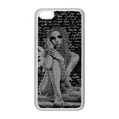 Angel Apple Iphone 5c Seamless Case (white) by Valentinaart