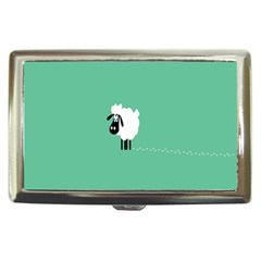 Sheep Trails Curly Minimalism Cigarette Money Cases by Simbadda