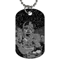 Angel  Dog Tag (one Side) by Valentinaart