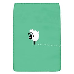 Sheep Trails Curly Minimalism Flap Covers (s)  by Simbadda