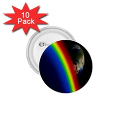 Rainbow Earth Outer Space Fantasy Carmen Image 1 75  Buttons (10 Pack) by Simbadda