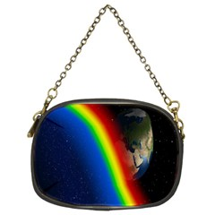 Rainbow Earth Outer Space Fantasy Carmen Image Chain Purses (two Sides)  by Simbadda